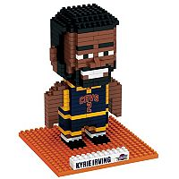 Forever Collectibles Cleveland Cavaliers Kyrie Irving BRXLZ 3D Puzzle Set
