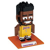 Forever Collectibles Los Angeles Lakers D'Angelo Russell BRXLZ 3D Puzzle Set