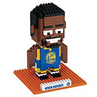 Forever Collectibles Golden State Warriors Kevin Durant BRXLZ 3D Puzzle Set