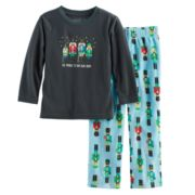 Toddler Boy Jammies For Your Families Nutcracker Top & Fleece Bottoms Pajama Set