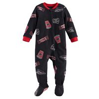 Baby Jammies For Your Families Movie Night Microfleece Footed Pajamas