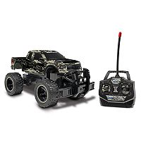 World Tech Toys Remote Control Ford F-150 SVT Raptor Camo Monster Truck