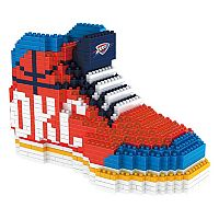 Forever Collectibles Oklahoma City Thunder BRXLZ 3D Sneaker Puzzle Set
