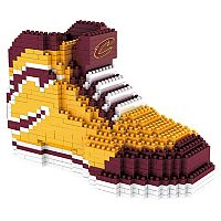 Forever Collectibles Cleveland Cavaliers BRXLZ 3D Sneaker Puzzle Set