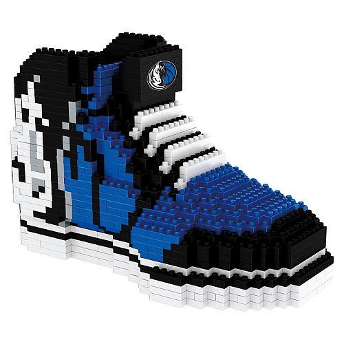 Forever Collectibles Dallas Mavericks BRXLZ 3D Sneaker Puzzle Set