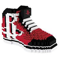 Forever Collectibles Houston Rockets BRXLZ 3D Sneaker Puzzle Set