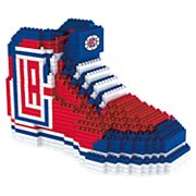 Forever Collectibles Los Angeles Clippers BRXLZ 3D Sneaker Puzzle Set