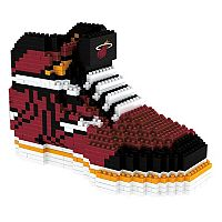 Forever Collectibles Miami Heat BRXLZ 3D Sneaker Puzzle Set