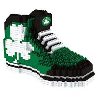 Forever Collectibles Boston Celtics BRXLZ 3D Sneaker Puzzle Set