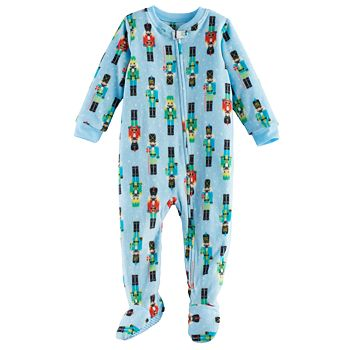 f5d71561e18c Baby Jammies For Your Families Nutcracker Microfleece Footed Pajamas