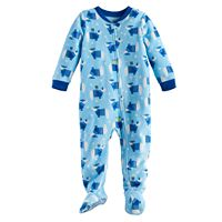Baby Jammies For Your Families Hanukkah Polar Bear Microfleece Footed Pajamas