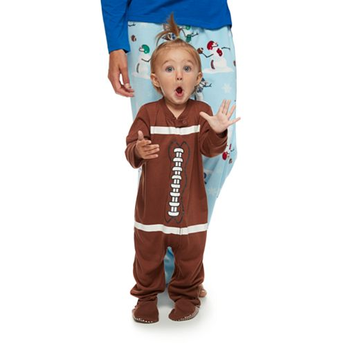 c635df9fb Baby Jammies For Your Families Football Flannel Footed Pajamas