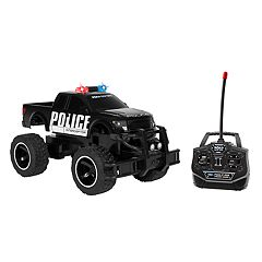 World Tech Toys Remote Control Ford F-150 SVT Raptor Police Monster Truck
