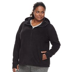 Plus Size Tek Gear Microfleece Full-Zip Hoodie Jacket
