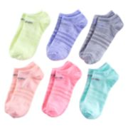 Girls 4-16 adidas 6-pk. Superlite No-Show Socks