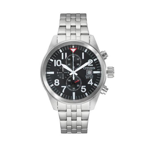 Citizen Men's Stainless Steel Chronograph Watch - AN3620-51E