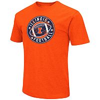 Men's Campus Heritage Illinois Fighting Illini Football Tee