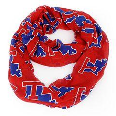 Louisiana Tech Bulldogs Logo Infinity Scarf