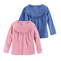 Girls 4-6x Freestyle Revolution Lace With Tassel Top Set