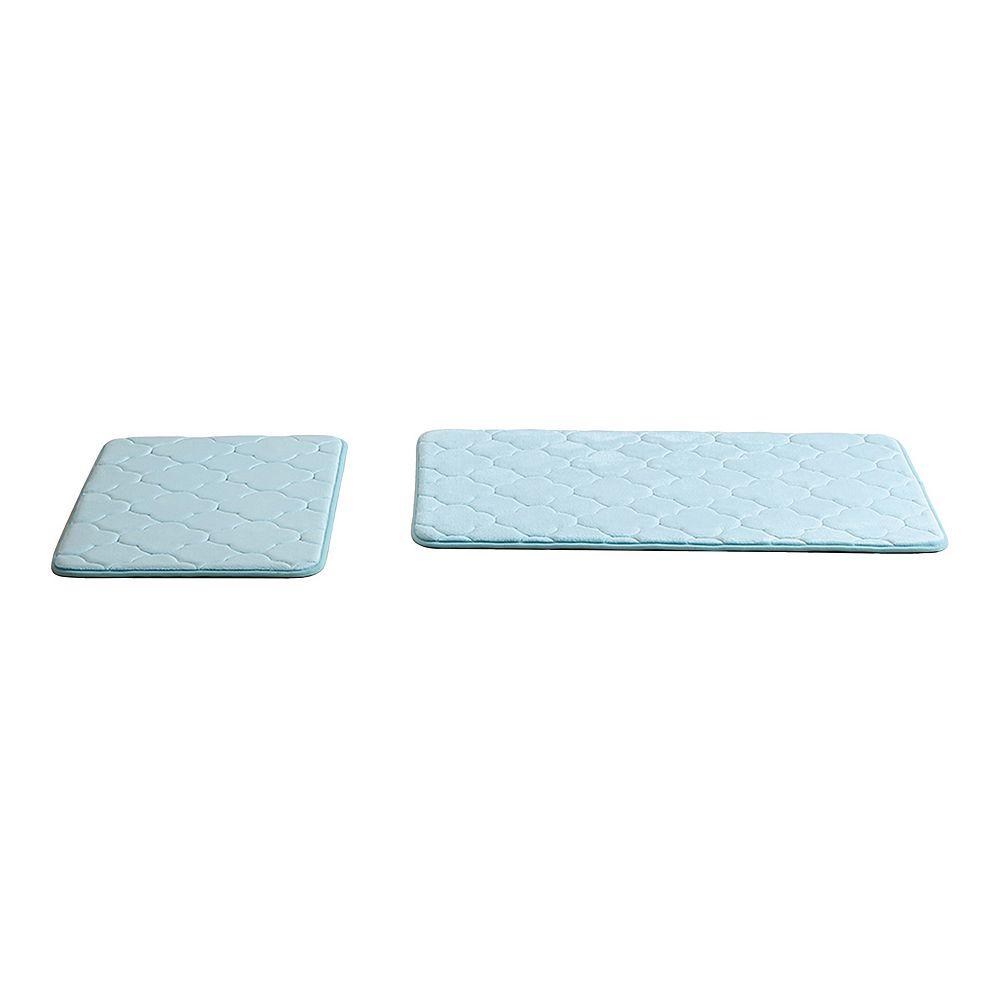 VCNY Kaydence 2-piece Memory Foam Bath Rug Set