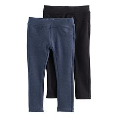 Girls 4-6x Freestyle Revolution 2-pk. Solid French Terry Jeggings