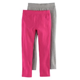 Girls 4-6x Freestyle Revolution 2-Pack Solid Jeggings