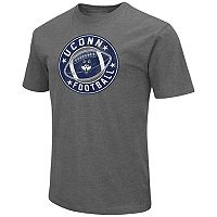 Men's Campus Heritage UConn Huskies Football Tee