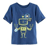 Baby Boy Jumping Beans® Robot Slubbed Graphic Tee