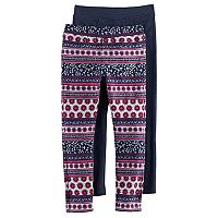 Girls 4-6x Freestyle Revolution 2-Pack Print & Solid Jeggings