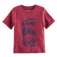 Baby Boy Jumping Beans® Slubbed Graphic Tee