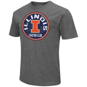 Men's Campus Heritage Illinois Fighting Illini Emblem Tee