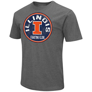 Men's Campus Heritage Illinois Fighting Illini Emblem Tee