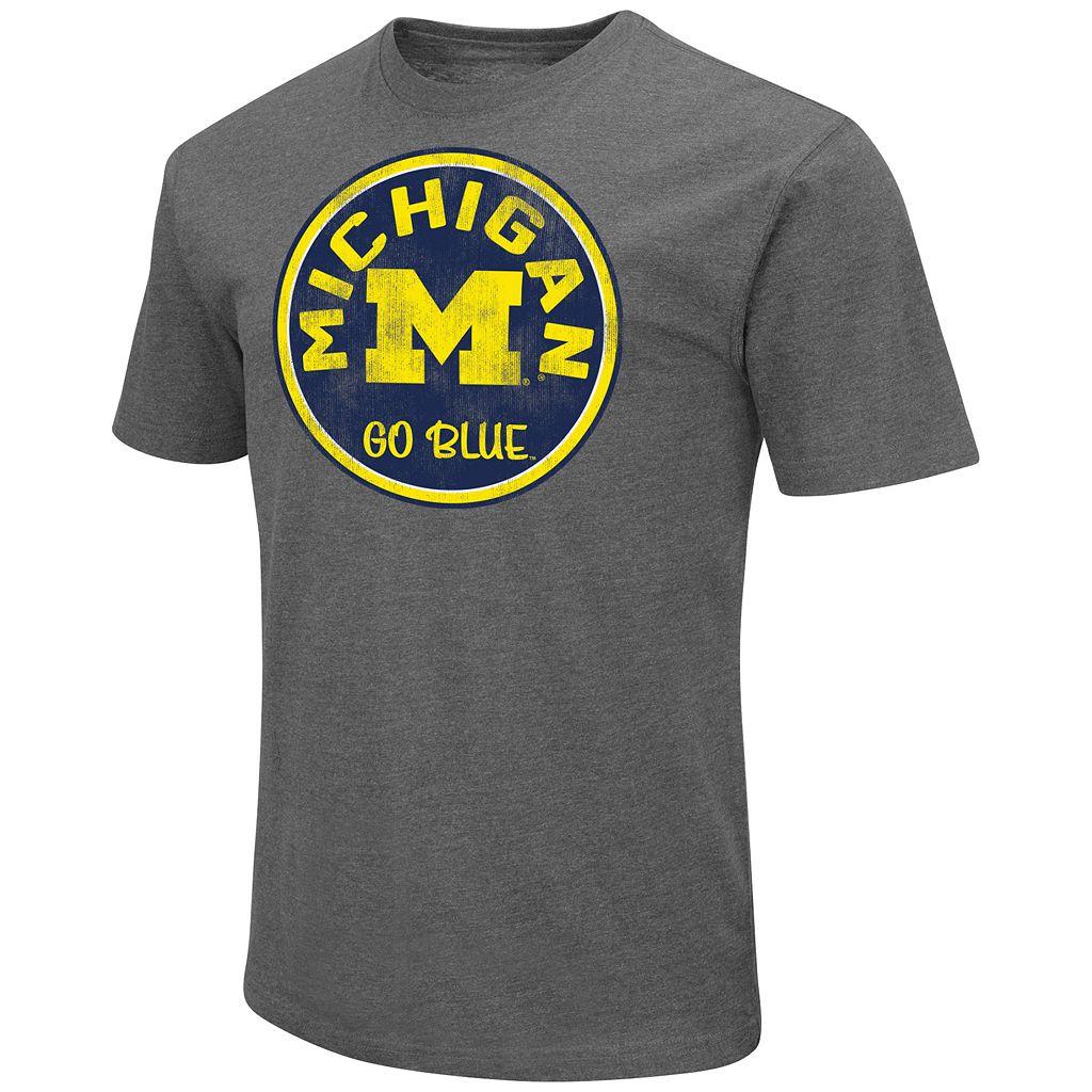 Men's Campus Heritage Michigan Wolverines Emblem Tee