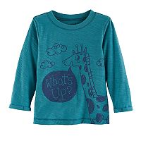 Baby Boy Jumping Beans® Puffed & Slubbed Long Sleeve Graphic Tee