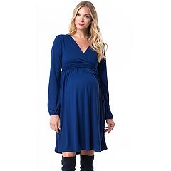 Maternity Pip & Vine by Rosie Pope Empire Faux-Wrap Dress