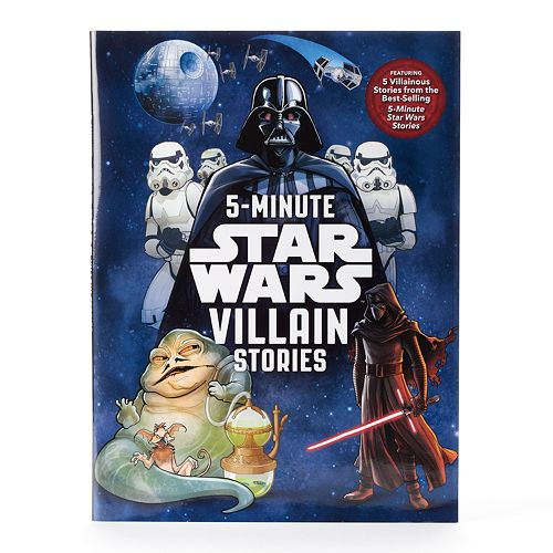 "Kohl's Cares® Star Wars ""5-Minute Star Wars Villain Stories"" Book"