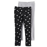 Girls 4-6x Freestyle Revolution 2 pkGlitter Jeggings