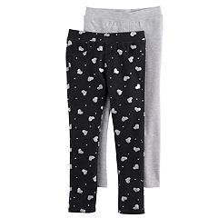 Girls 4-6x Freestyle Revolution 2-pk. Glitter Jeggings