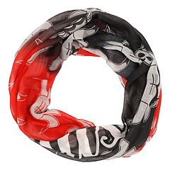 Women's Forever Collectibles Chicago Bulls Gradient Infinity Scarf