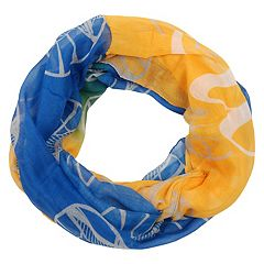Women's Forever Collectibles Golden State Warriors Gradient Infinity Scarf