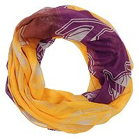 Women's Forever Collectibles Los Angeles Lakers Gradient Infinity Scarf