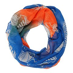 Women's Forever Collectibles New York Knicks Gradient Infinity Scarf