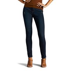 Petite Lee Sculpting Slim Leg Pull-On Jeans