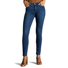 Petite Lee Sculpting Slim Leg Pull-On Jeans
