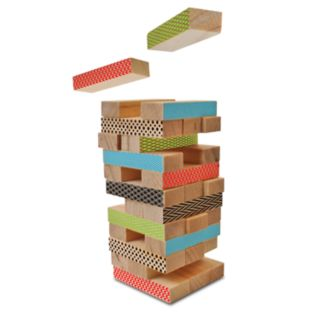 Protocol Raise Your Game Mini Wooden Stacking Blocks