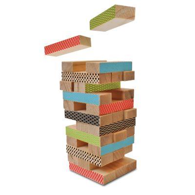 Protocol Raise Your Game Mini Wooden Stacking Blocks