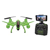 World Tech Toys Mini Elite Orion Glow-in-the-Dark 2.4GHz 4.5CH Remote Control Camera Drone