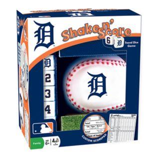 Detroit Tigers Shake n' Score Travel Dice Game