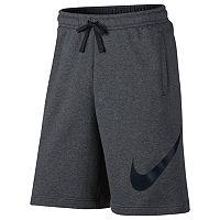 Nike Sportswear Men's Club Shorts (Charcoal Heather/Black)