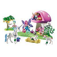 Playmobil Fairies & Toadstool House Playset - 6055